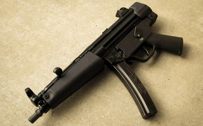 Picture weapons, the gun, Heckler & Koch, MP5