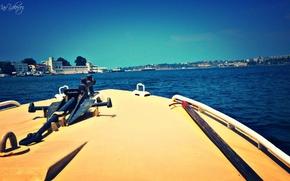 Picture sea, plan, Sevastopol, Front