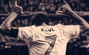 Picture Sport, Football, Seven, Room, Real Madrid, Real Madrid, Legend, Raul, Raul, Player