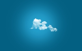 Wallpaper white, blue, color, The sky, cloud