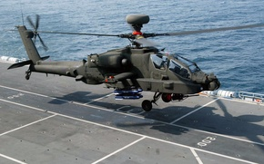 Picture Apache, Douglas, McDonnell, AH-64, the main attack helicopter of the US Army