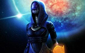 Picture mask, alien, Mass Effect, bioware, tali, quarian, Glubinny Zorah nar Rayya, tali'zorah