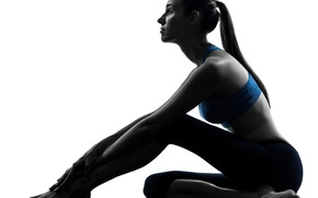 Picture fitness, pose, sportswear