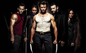 Picture X-Men, Origins, dead pool, wolverine, GAMBIT