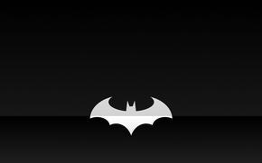 Picture batman, logo, minimalism