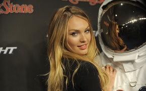 Picture sweetheart, model, astronaut, Candice, Swanepoel