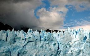 Wallpaper the sky, Ice, glacier