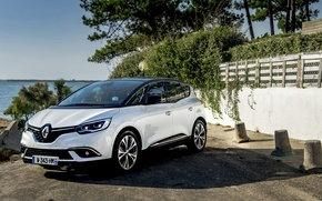 Picture White, Renault, Hybrid, Scenic, 2016, Metallic, Assist