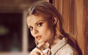 Picture girl, face, star, beauty, model, Magdalena Frackowiak, polish