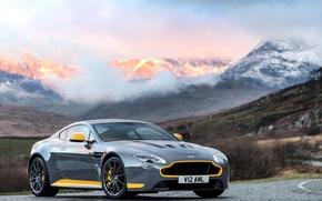 Picture car, mountains, Aston Martin, car, beautiful, V12, Vantage S, Sport-Plus Pack