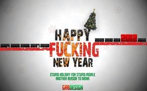 Picture new year, happy, gabdesign, chechen design, rule, new 2012