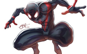 Picture Fiction, Marvel, Spider Man, Symbiote