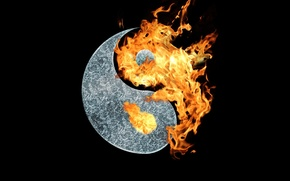 Picture background, symbol, harmony, Yin-Yang