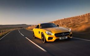 Picture Mercedes, Mercedes, AMG, AMG, UK-spec, 2015, GT S, C190