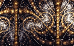 Picture abstraction, background, patterns, fractal