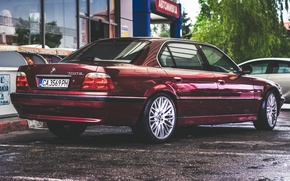 Wallpaper BMW, Boomer, BMW, E38, Tuning Car, 750iL