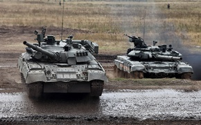 Picture dirt, polygon, armor, T-90, T-80