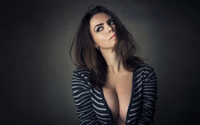 Picture brunette, breasts, busty