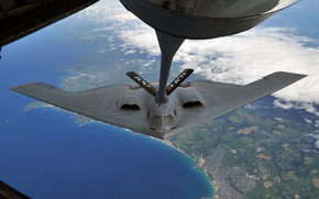 Picture bomber, Northrop, strategic, refueling, B-2 Spirit