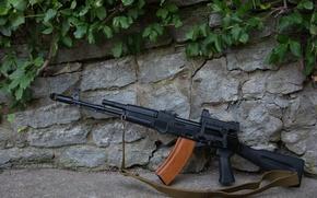 Picture weapons, the gun, carabiner, Saiga, self-loading