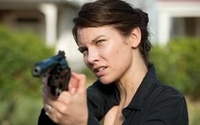 Picture Maggie, The Walking Dead, Lauren Cohan, Walking, the sixth season