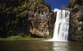 Picture Waterfall, New Zealand, Hunua Falls