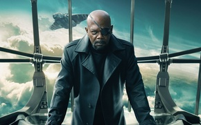 Picture Marvel, Soldier, 2014, Nick Fury, Captain America The Winter Soldier