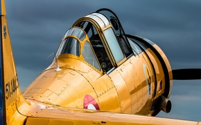 Picture Chateauroux airport, Private owner, North American AT-6 Texan F-AZCV