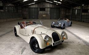 Picture Roadster, Sport, Morgan, Classic cars, 4/4
