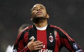 Wallpaper football, goal, Milan, Robinho, offside