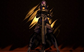 Picture weapons, mass effect, Tali, Widow