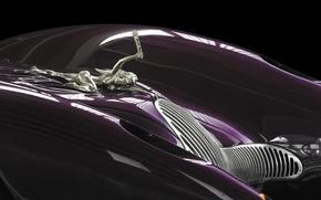 Picture background, the concept, emblem, Horch, 1996, Colani, Mega-Roadster