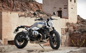 Picture BMW, moto, classic, Scrambler, NineT, motorrad