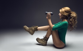 Picture girl, pose, Megan Brock