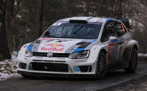 Picture volkswagen, rally, wrc, polo, 2013, Monte-Carlo, S. Ogier