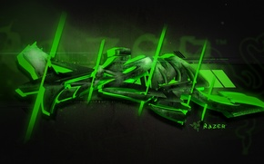 Picture Green, Graffiti, Razer