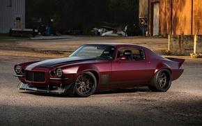 Picture Chevrolet, 1971, Camaro, Wheels, Concave, Forgeline, Protouring, GA3C, Hotrods, Dutchboys