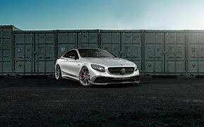 Picture Mercedes, Coupe, S63, HRE, in, P204, Satin Cha