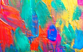 Wallpaper acrylic, colors, texture, texture, paint, paint, strokes