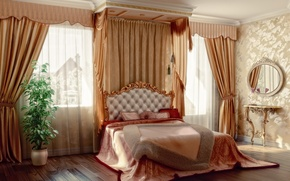 Picture flowers, design, furniture, bedroom, design