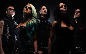 Wallpaper butcher babies, heavy metal, death metal
