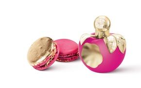 Picture bottle, Paris, perfume, macaron, Les Delices, Nina Ricci