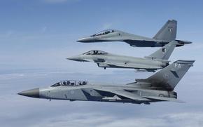 """Wallpaper flight, fighters, Eurofighter Typhoon, Tornado, Su-30MKI, """"Tornado"""""""