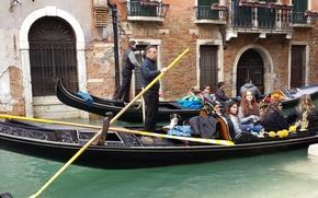 Picture landscape, the city, Venice