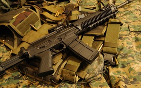 Picture weapons, machine, Assault rifle, SIG 556
