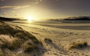 Picture sand, beach, landscape, coast