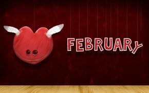 Picture heart, Valentine's day, 14 Feb, Valentine's day
