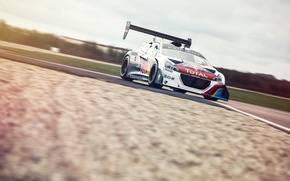 Picture Top Gear, Peugeot, track, Red Bull, front, Total, Sport 208 T16 Pikes Peak