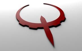 Picture the game, logo, logo, quake, quake