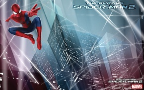 Picture city, spider man, web